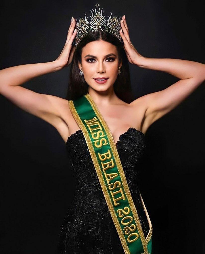 Brasileira fica em 2º lugar no Miss Universo