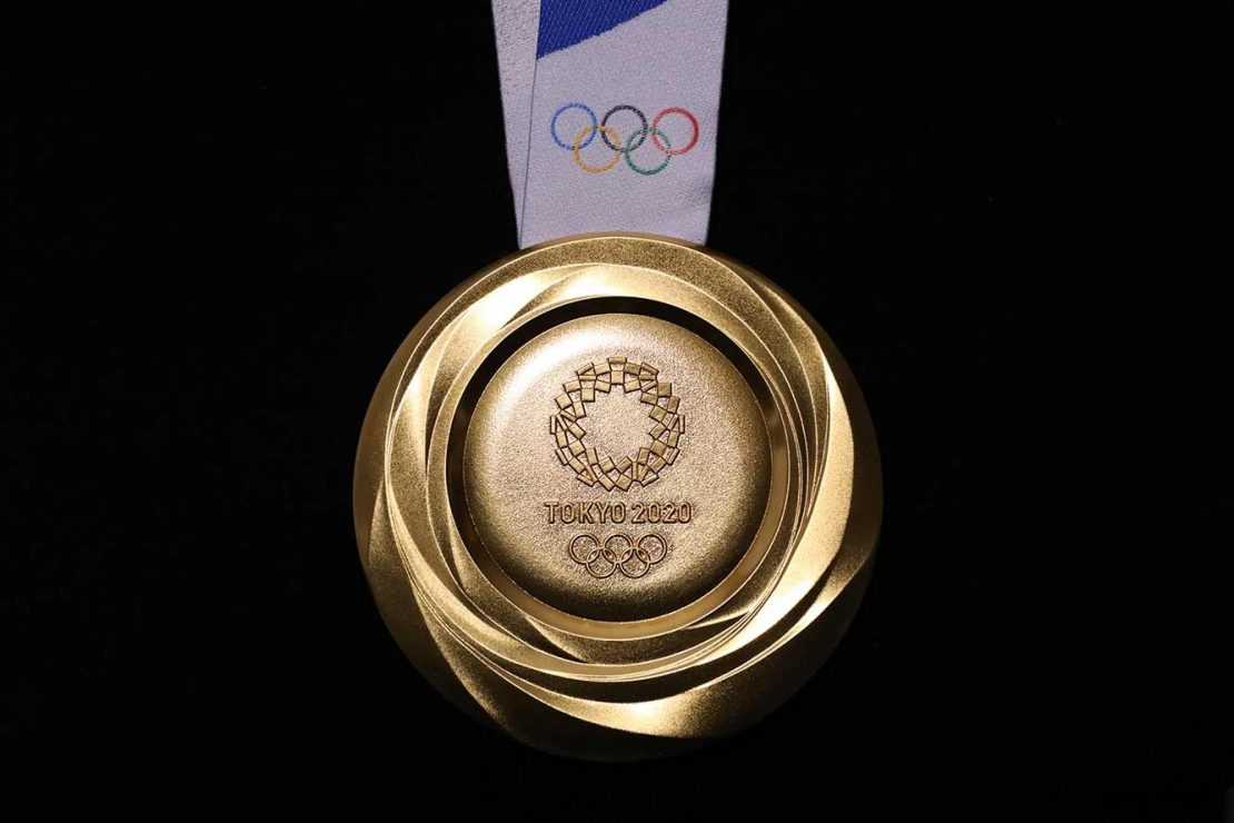 Medalha de Ouro dos Jogos Olímpicos de Tokyo