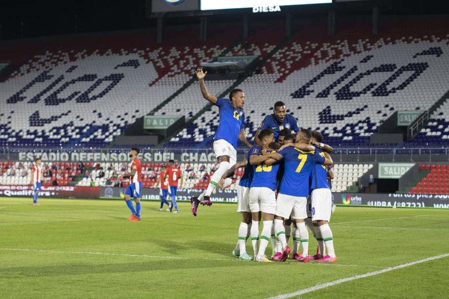 Brasil vence o Paraguai