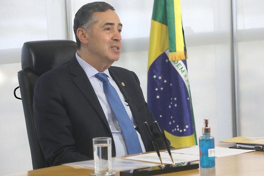 Luís Roberto Barroso, presidente do TSE - Foto: Abdias Pinheiro/ASCOM/TSE
