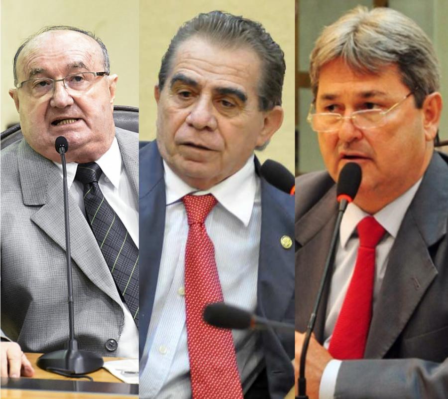 Dep. José Dias, Dep. Raimundo Fernandes, Dep. Tomba Farias