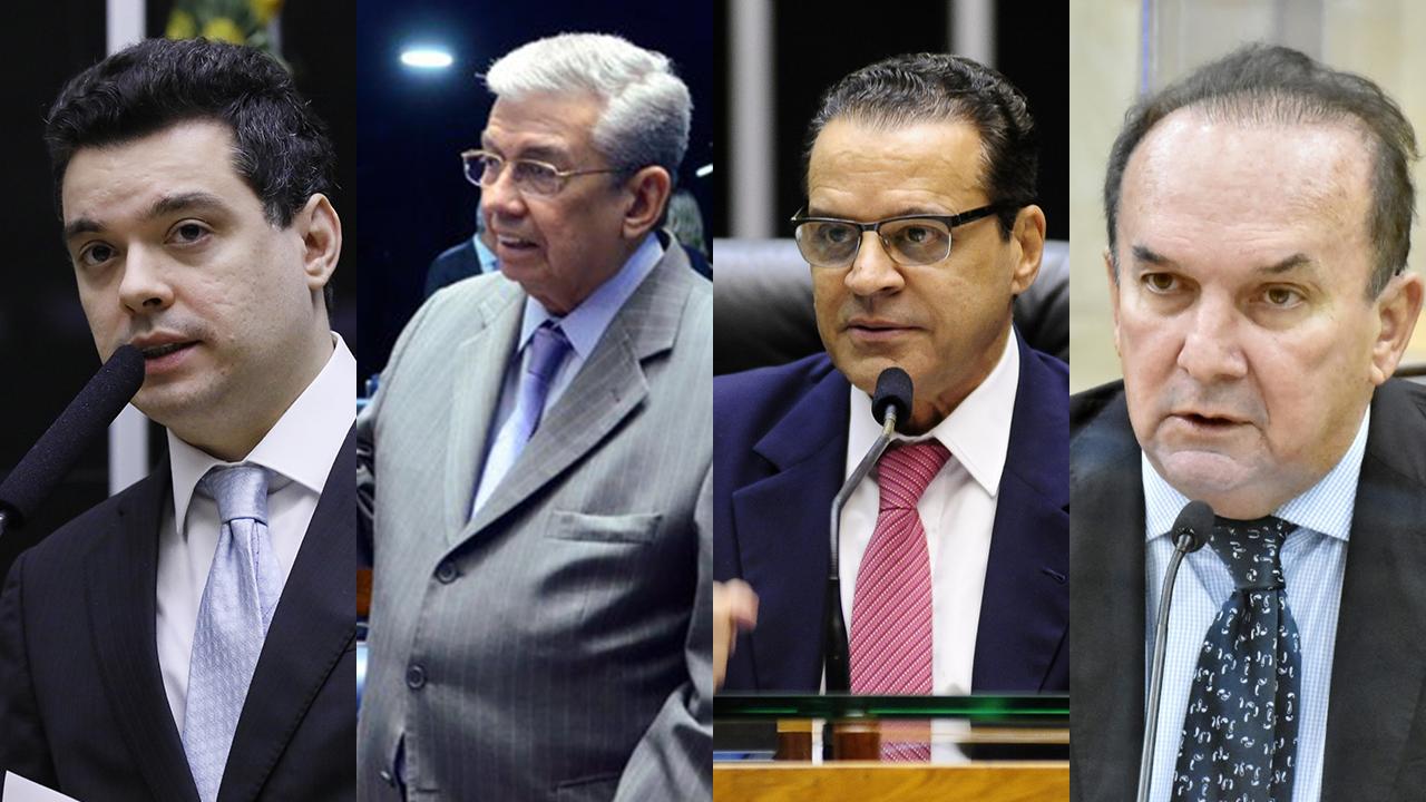 Walter Alves, Garibaldi Alves, Henrique Alves e Nelter Queiroz