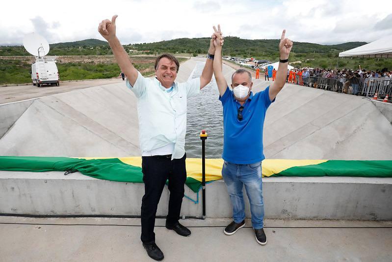 Jair Bolsonaro e Rogério Marinho