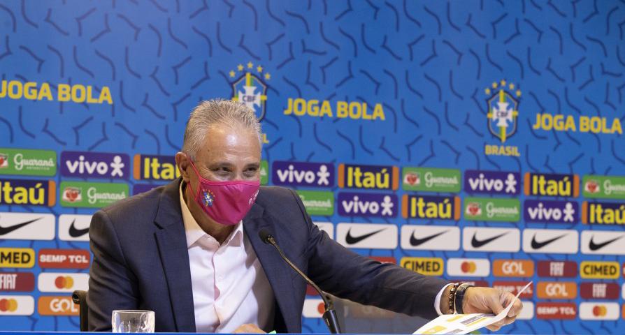Tite, técnico da Seleção Brasileira de Futebol - Foto: Lucas Figueredo/CBF
