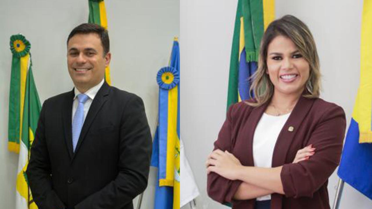Professor Ítalo e Rhalessa de Clênio