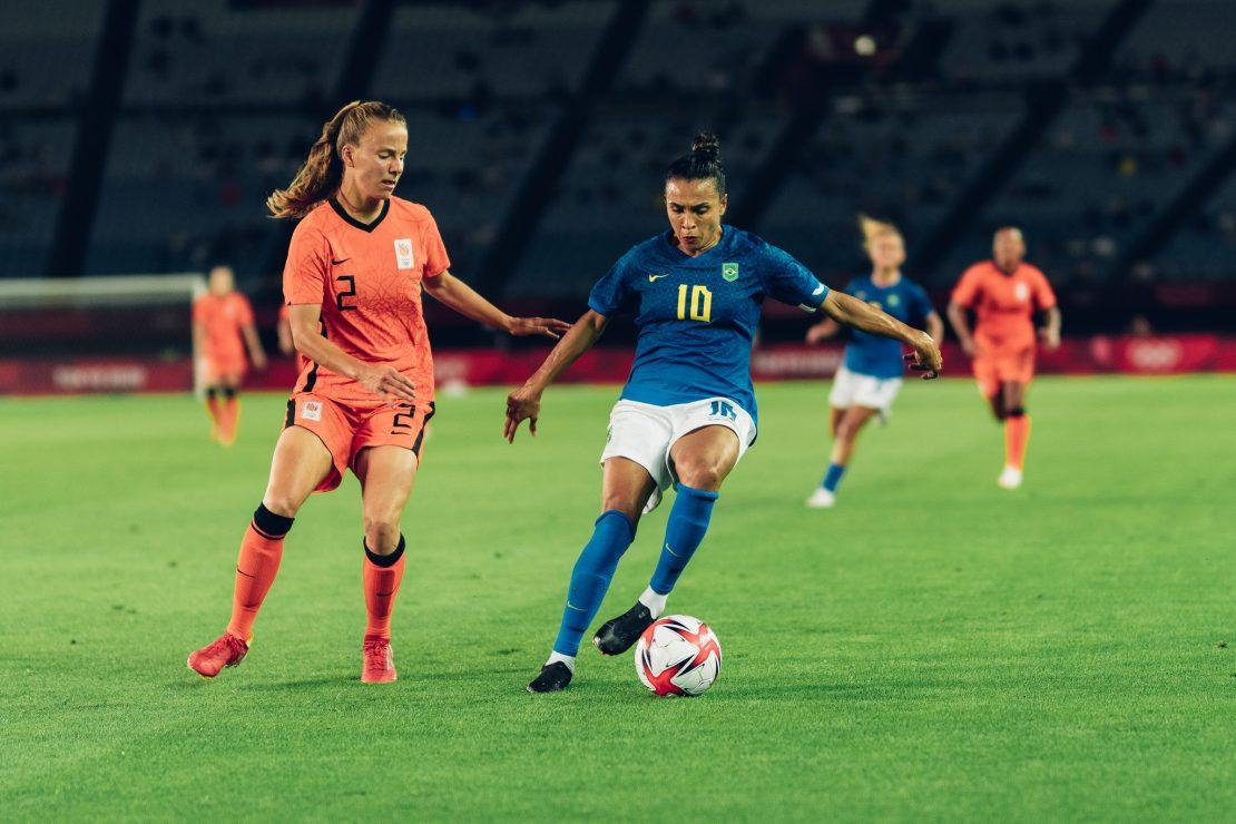 Marta contra a Holanda