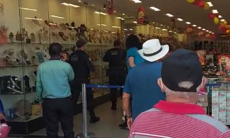 Assalto em uma loja no Centro de Natal