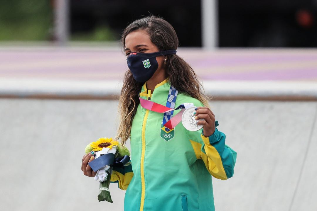 Rayssa Leal faz história e conquista a prata nos Jogos de Tóquio