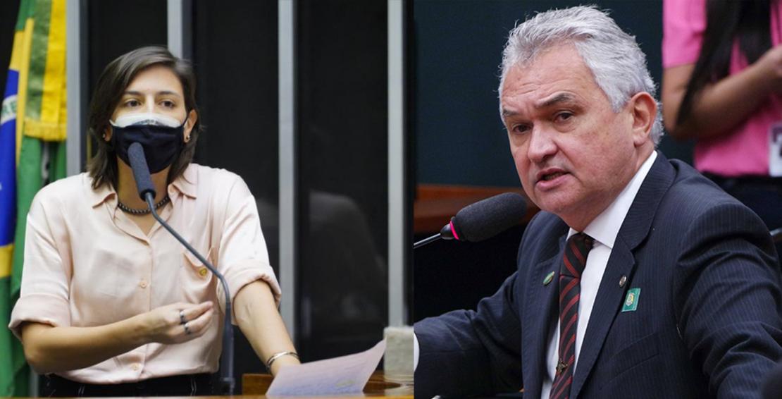 Natália Bonavides e General Girão Monteiro
