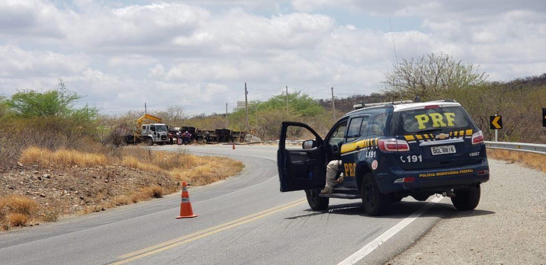 Acidente na RN-427 deixa dois mortos - Foto: Rodrigo Maker