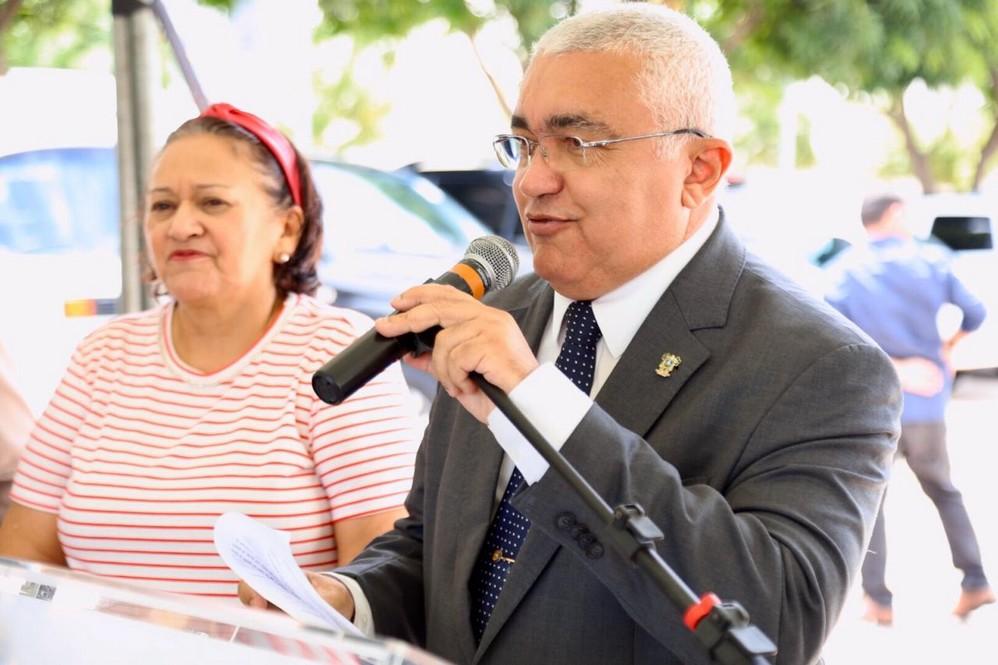 Coronel Araújo, secretário de Segurança Pública do Estado do Rio Grande do Norte