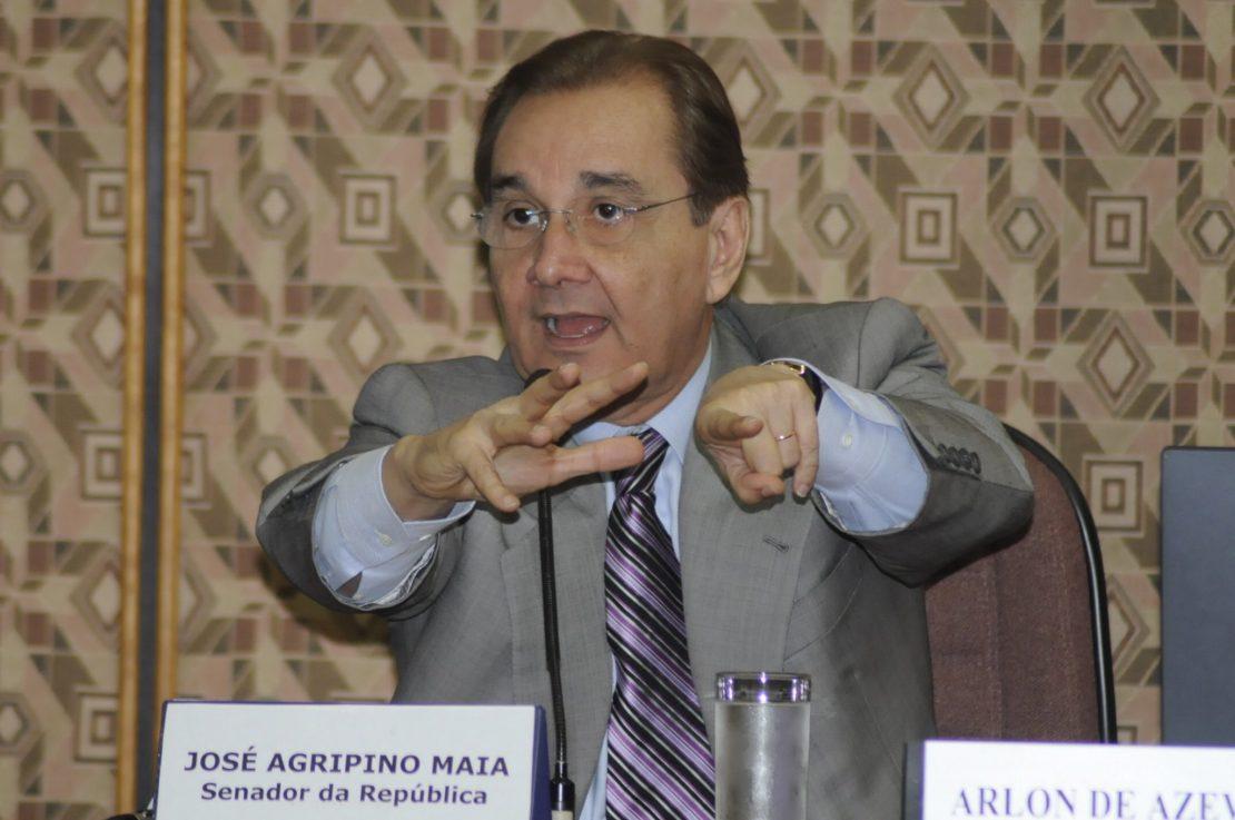 Ex-senador José Agripino