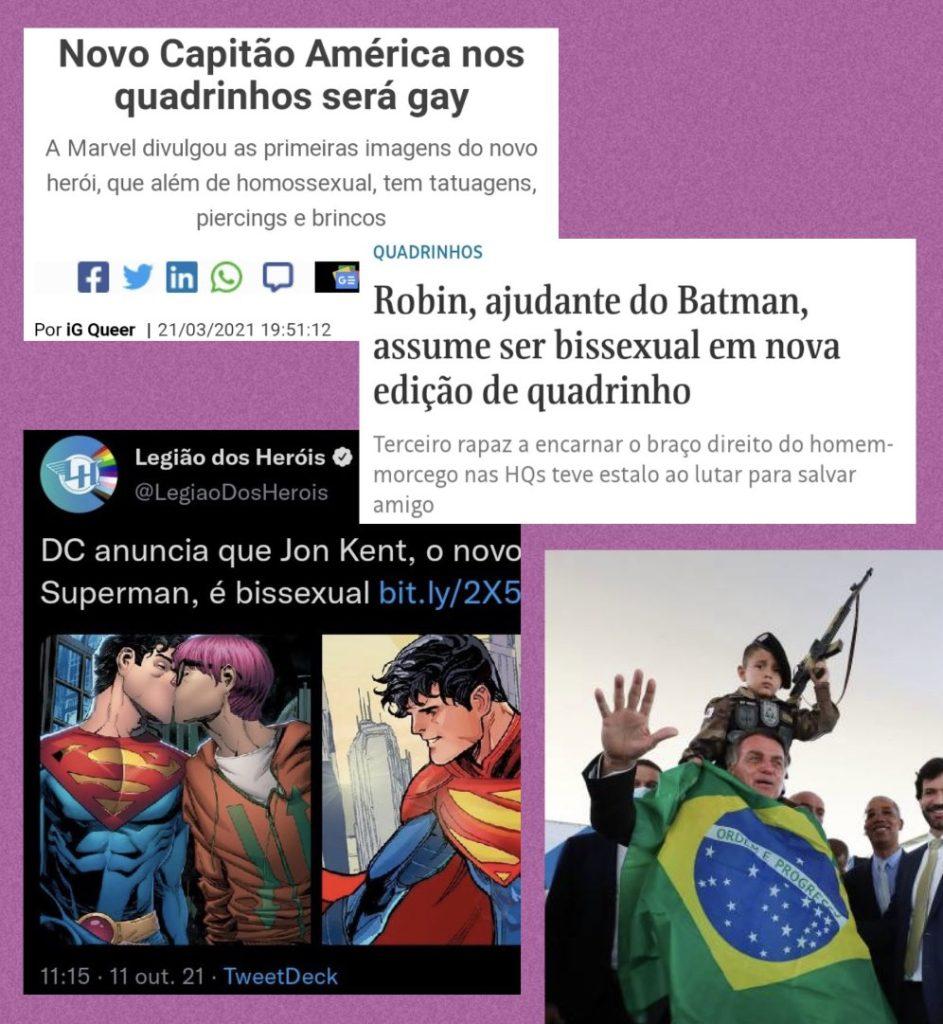 Recortes super heróis homossexuais