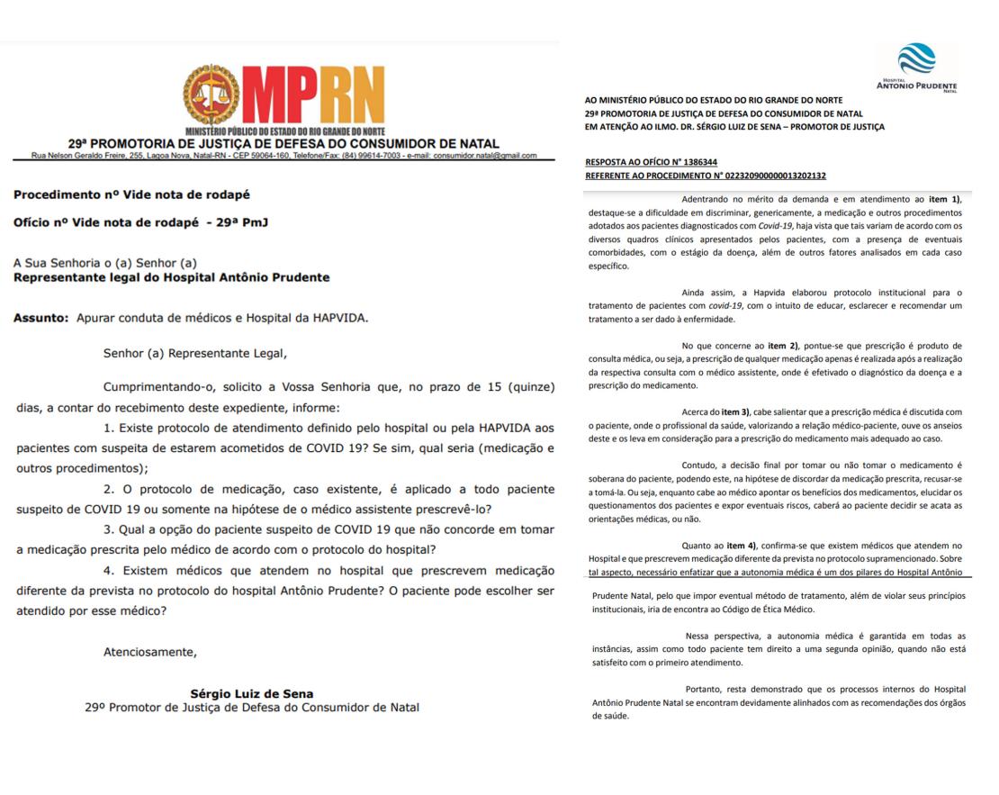 MPRN e Hospital Antônio Prudente